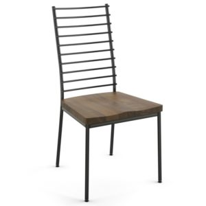 Lisia Chair (wood) ~ 30332 by Amisco