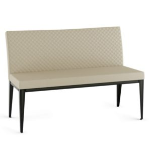 Pablo Bench w/ quilted fabric ~ 30472Q by Amisco