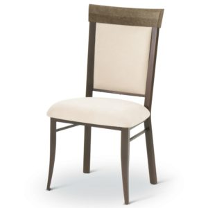 Eleanor Chair (distressed wood) ~ 35210 by Amisco