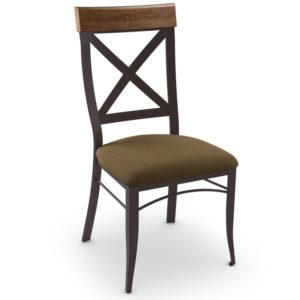 Kyle Chair (distressed wood) ~ 35214 by Amisco