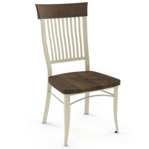 Annabelle Chair (distressed wood) ~ 35219 by Amisco