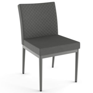 Monroe Chair w/ quilted fabric ~ 35404Q by Amisco