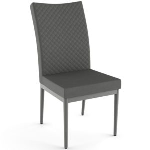 Mitchell Chair w/ quilted fabric ~ 35405Q by Amisco