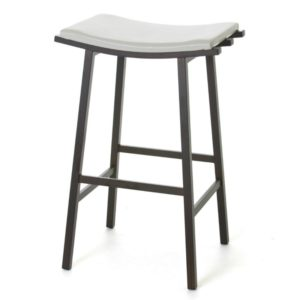 Nathan Non swivel stool (cushion) ~ 40033 by Amisco