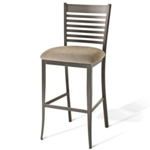 Edwin Non swivel stool (cushion) ~ 40198 by Amisco
