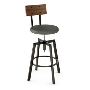 Architect Screw Stool (cushion) ~ 40263 by Amisco