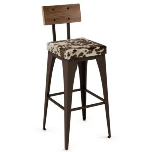 Upright Non swivel stool (cushion) ~ 40264 by Amisco