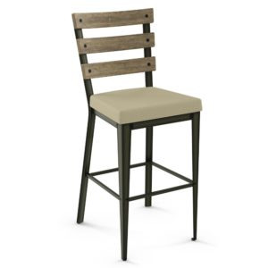 Dexter Non swivel stool (cushion) ~ 40323 by Amisco