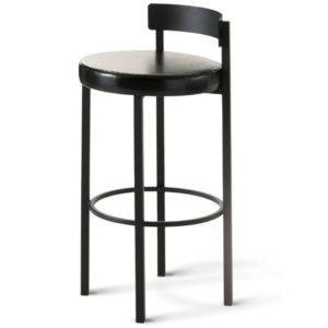 Zoe Non swivel stool (cushion) ~ 40468 by Amisco
