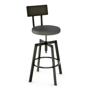 Architect Screw Stool (cushion) ~ 40563 by Amisco