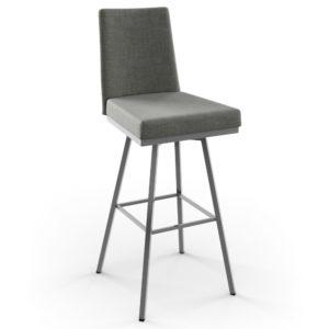 Linea Swivel stool (cushion) ~ 41320 by Amisco