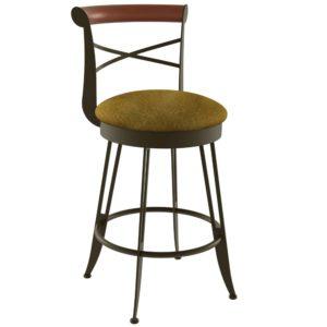 Historian Swivel stool (cushion) ~ 41402 by Amisco