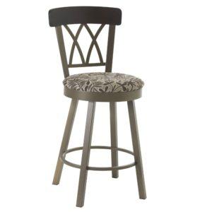 Brittany Swivel stool (cushion) ~ 41405 by Amisco