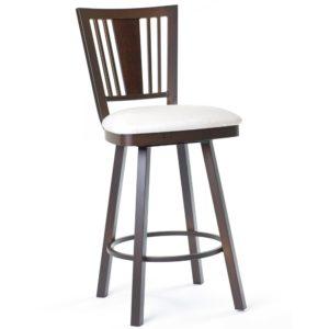 Madison Swivel stool (cushion) ~ 41406 by Amisco