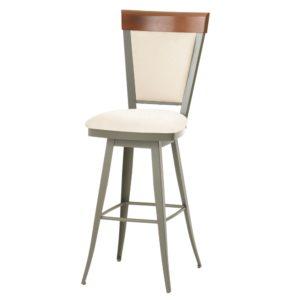 Eleanor Swivel stool (cushion) ~ 41410 by Amisco