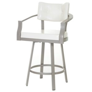 Jonas Swivel stool (cushion) ~ 41437 by Amisco