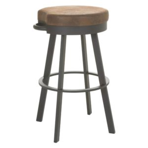 Bryce Swivel Stool (cushion) ~ 41444 by Amisco
