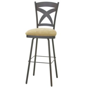 Marcus Swivel stool (cushion) ~ 41451 by Amisco