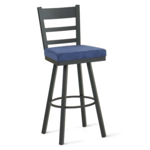 Owen Swivel stool (cushion) ~ 41454 by Amisco