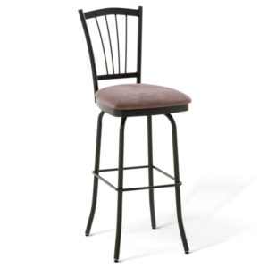 Naomi Swivel stool (cushion) ~ 41467 by Amisco