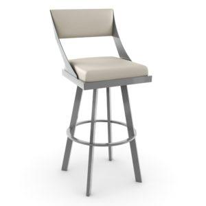 Fame Swivel stool (cushion) ~ 41468 by Amisco