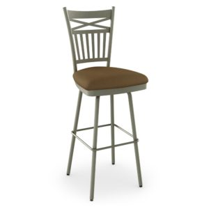 Garden Swivel stool (cushion) ~ 41488 by Amisco