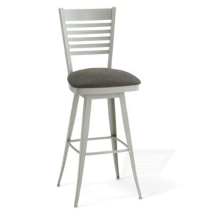 Edwin Swivel Stool (cushion) ~ 41498 by Amisco