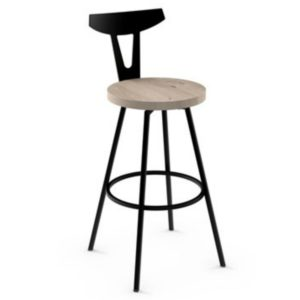 Hans Swivel stool (wood) ~ 41504 by Amisco