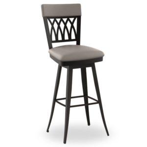 Oxford Swivel stool (cushion) ~ 41510 by Amisco