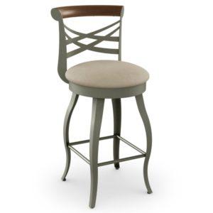 Whisky Swivel stool (cushion) ~ 41512 by Amisco