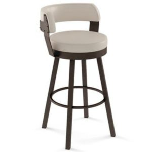 Russell Swivel stool (cushion) ~ 41526 by Amisco