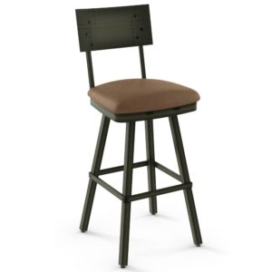 Jetson Swivel stool (cushion) ~ 41527 by Amisco