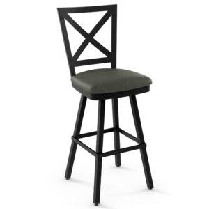 Kent Swivel stool (cushion) ~ 41528 by Amisco
