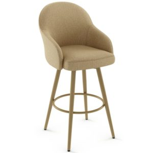 Weston Swivel stool (cushion) ~ 41534 by Amisco