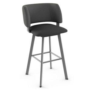 Easton Swivel stool (cushion) ~ 41535 by Amisco