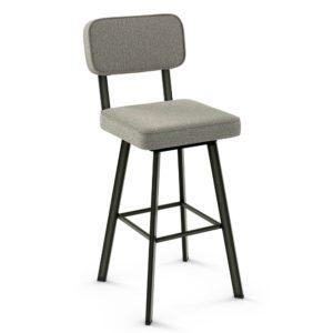 Brixton Swivel stool (cushion) ~ 41536 by Amisco
