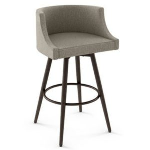Radcliff Swivel stool (cushion) ~ 41557 by Amisco