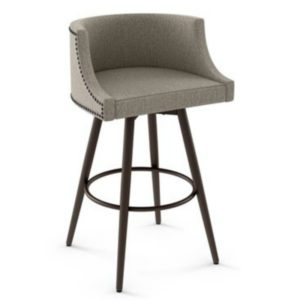 Radcliff Swivel stool (cushion) ~ 41537 by Amisco