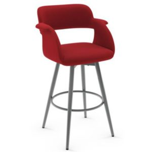 Sorrento Swivel stool (cushion) ~ 41539 by Amisco