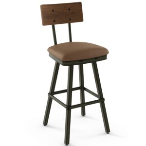 Jetson Swivel Stool (cushion) ~ 41567 by Amisco