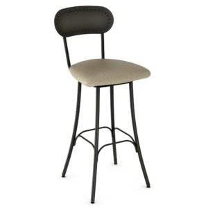 Bean Swivel stool (cushion) ~ 41568 by Amisco