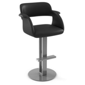 Positano Swivel stool (cushion) ~ 41569 by Amisco