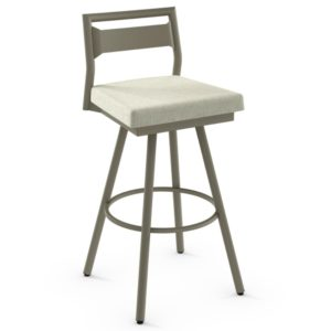 Viggo Swivel stool (cushion) ~ 41572 by Amisco