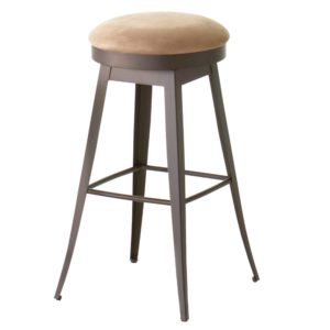 Grace Swivel stool (cushion) ~ 42414 by Amisco