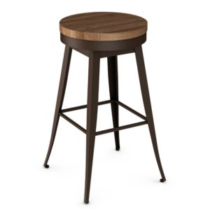 Grace Swivel stool (wood) ~ 42414 by Amisco