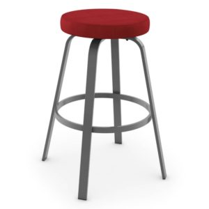Reel Swivel stool (cushion) ~ 42436 by Amisco