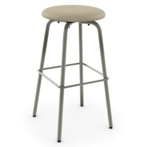 Button Swivel Stool (cushion) ~ 42460 by Amisco