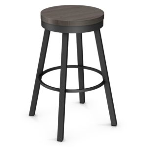Connor Swivel Stool (wood) ~ 42493 by Amisco