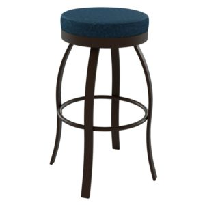 Swan Swivel stool (cushion) ~ 42496 by Amisco