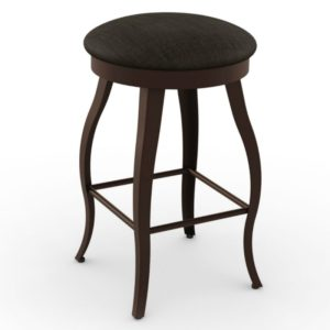 Pearl Swivel stool (cushion) ~ 42514 by Amisco